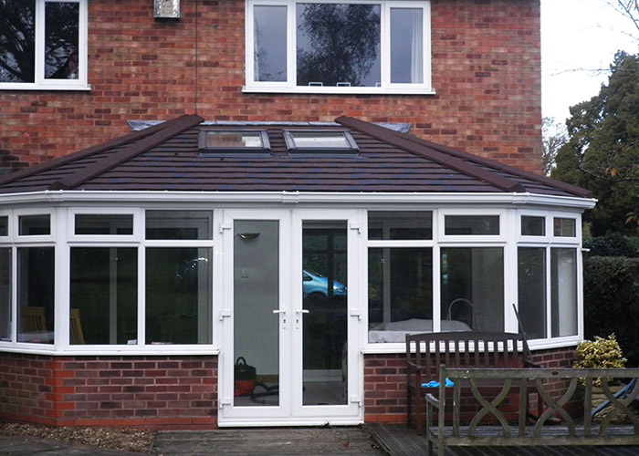 Tiled Conservatory Roof Installation, Hampton in Arden