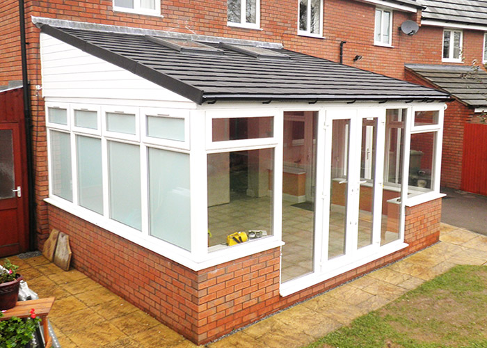 Conservatory Roof Conversion >> Project Conservatory Roof Conversion Hereford Ensign