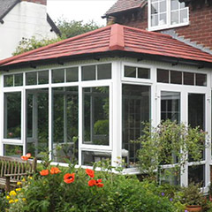 Red Tiled Conservatory Roof