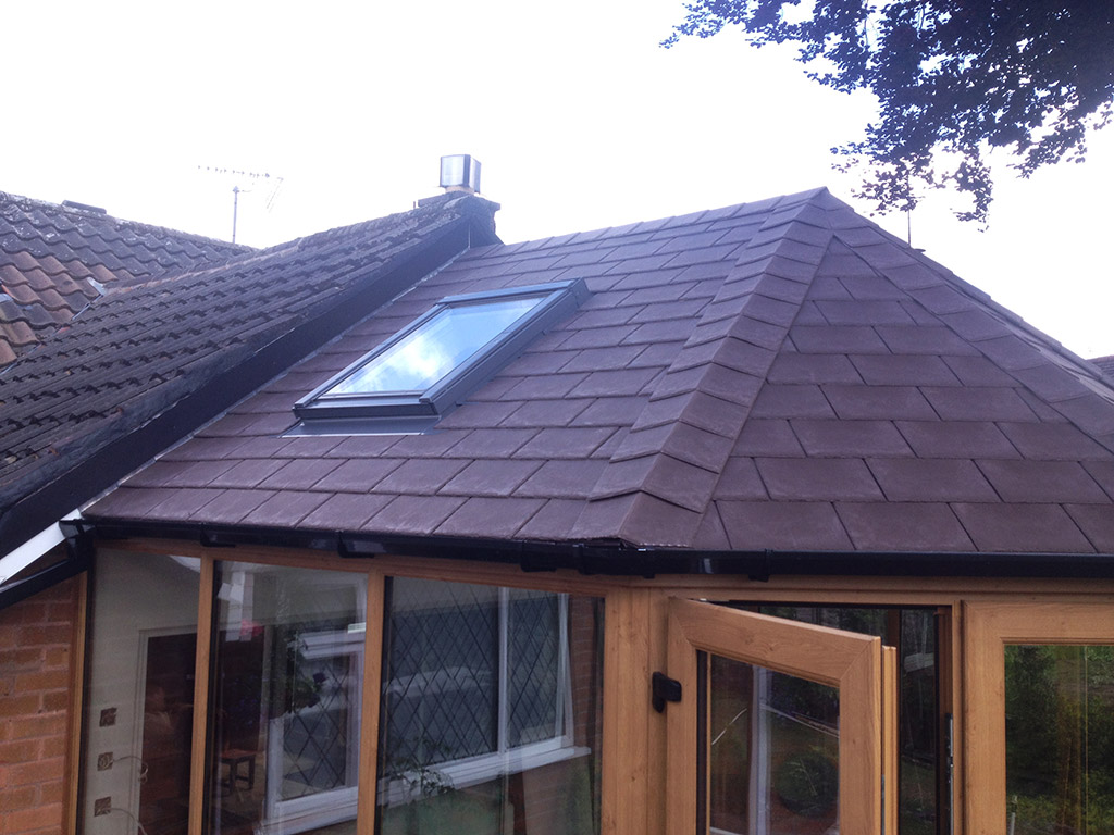 Chestnut Conservatory Roof