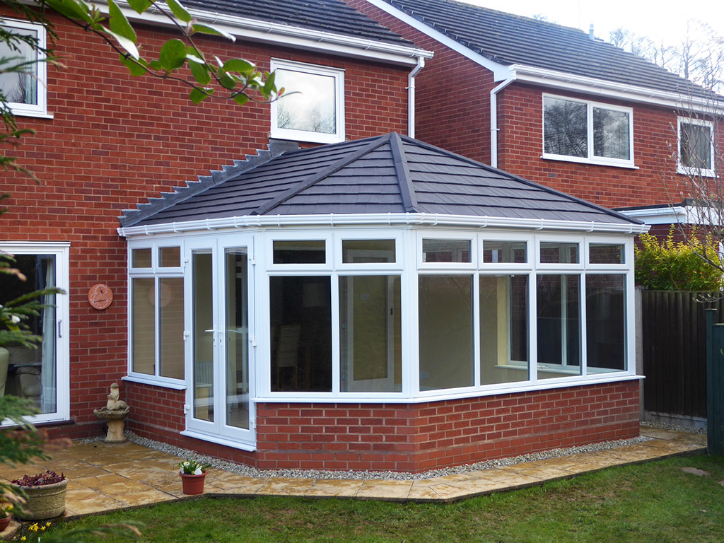 Tiled conservatory roof conversion ensign roof for New roof ideas