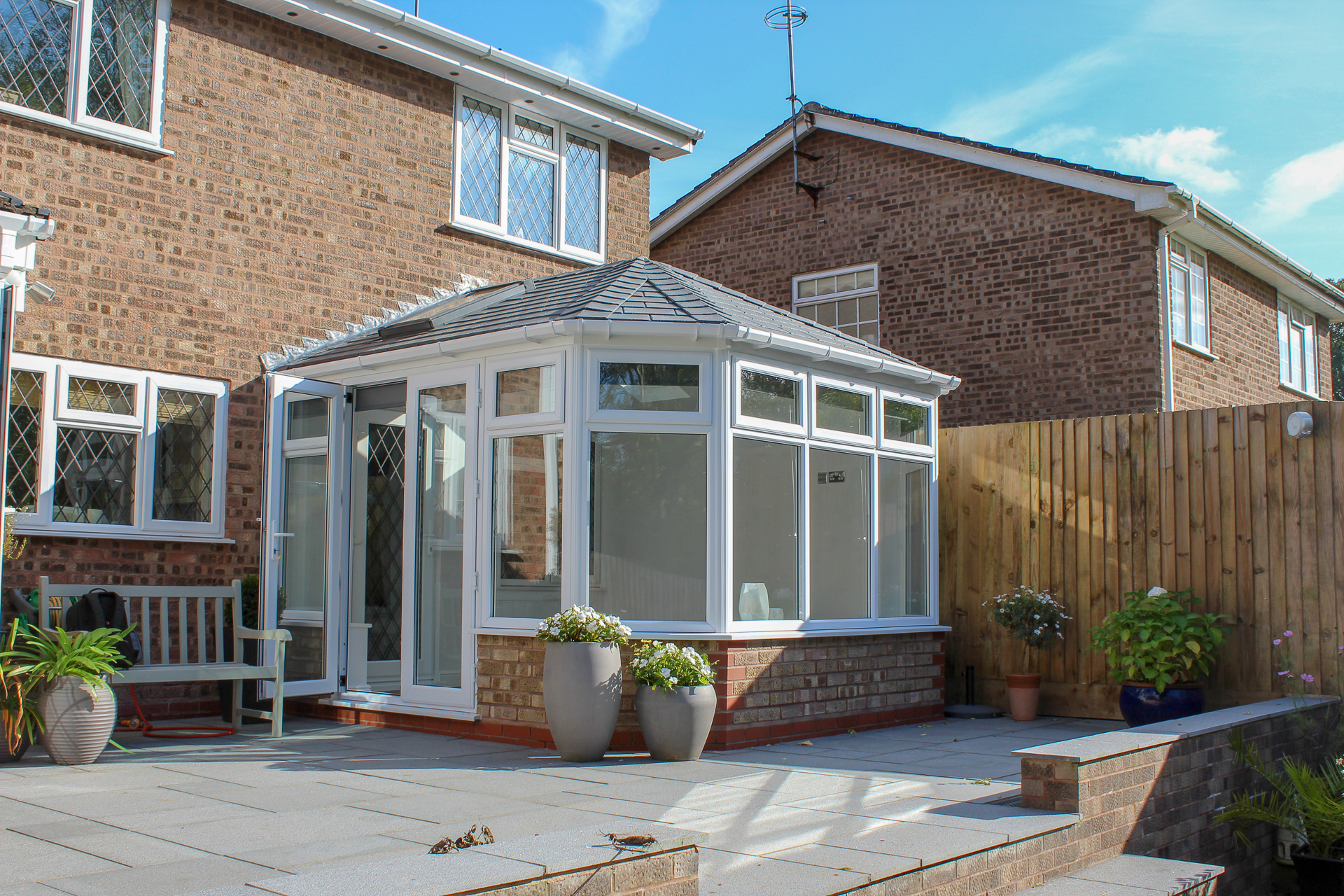 Tiled Conservatory Roof Replacement Systems Ensign