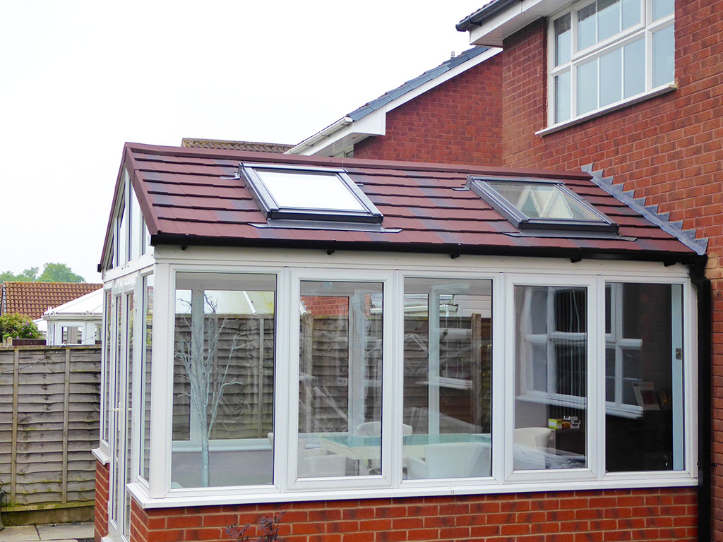 Tiled Conservatory Roofs Ensign Roof Solutions