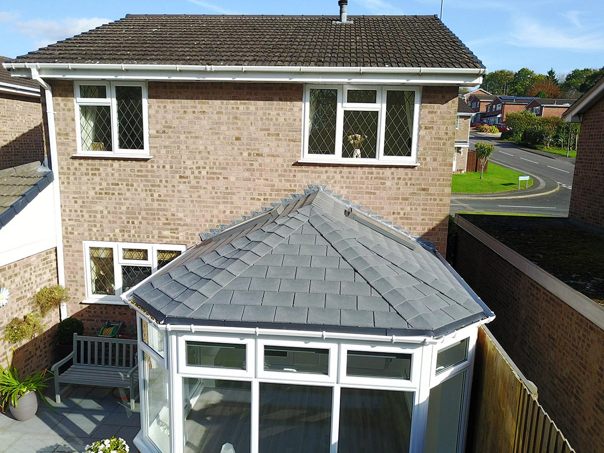 Project Tiled Conservatory Roof In Redditch Ensign